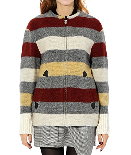 wiberlux-isabel-marant-fimo-womens-striped-zip-front-wool-jacket-38-red-gray