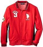 U.S. Polo Assn. Men's Fleece Full Zip Track Jacket