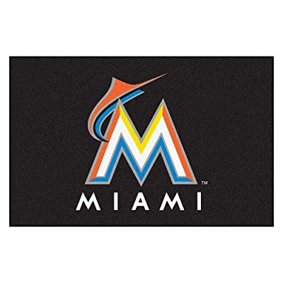 Fanmats MLB Miami Marlins Nylon Rug