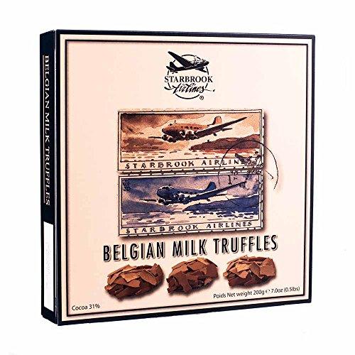 starbrook-airlines-belgische-truffel-aus-milchschokolade
