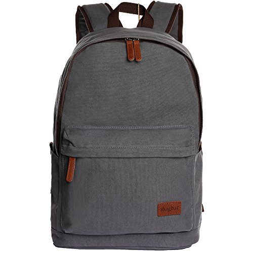 ibagbar Classic Canvas Backpack - Import It All 123cbed6e6b30