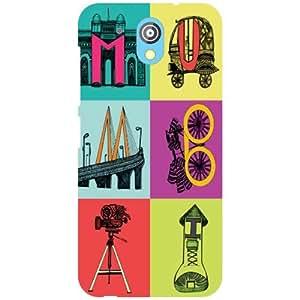 Back Cover For HTC Desire 526G Plus (Printed Designer)
