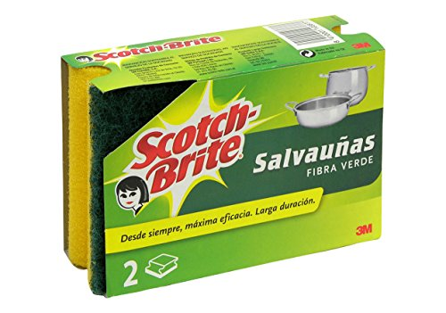 Scotch-Brite-Duplo Salvauñas: Verde
