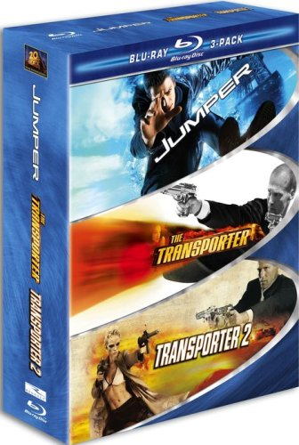 Blu-ray : Action 3 Pack Blu-ray (Widescreen, 3 Disc)