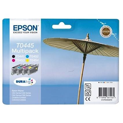 Epson C13T04454010 Cartouche d'encre MultiPack pour Epson Stylus C 64/84