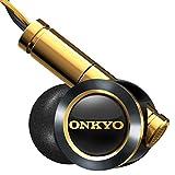 ONKYO ハイレゾ対応 ハイブリッド方式 密閉型インナーイヤーヘッドフォン ブラック E900M