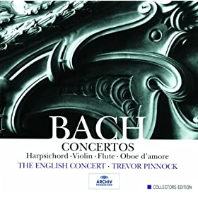 Concerto for Harpsichord, Strings, and Continuo No.7 in G minor, BWV 1058 - 1. --