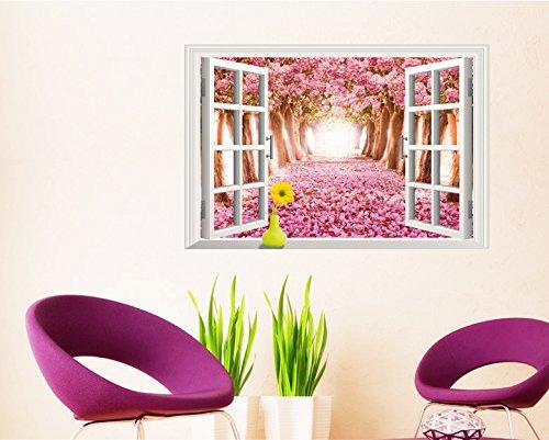 ciliegie-3d-motivo-avenue-orizzontale-paesaggi-motivo-alberi-in-finta-finestra-in-vinile-decalcomani