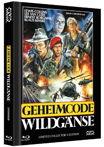 Geheimcode Wildgänse - Uncut [Blu-ray+ DVD] Mediabook Cover B [Limited Collector's Edition]