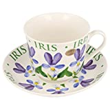 LEONARDO COLLECTION FINE CHINA CUP &SAUCER STYLE - LP99983 (IRIS)