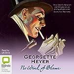 No Wind of Blame: Inspector Hemingway, Book 1 | Georgette Heyer