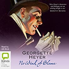 No Wind of Blame: Inspector Hemingway, Book 1 (       UNABRIDGED) by Georgette Heyer Narrated by Ulli Birvé