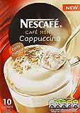 Nescafé Café Menu Cappuccino 17 g (Pack of 12, Total 120 Sachets)