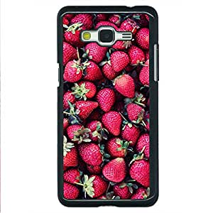 EYP Strawberry Pattern Back Cover Case for Samsung Grand Prime