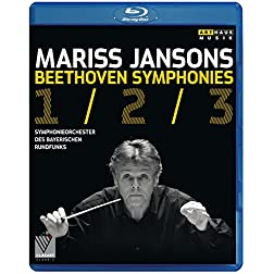 Beethoven: Symphonies Nos. 1-3 [Blu-ray]