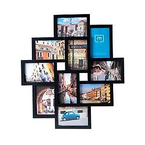 Melannco 10-Opening Collage, Black