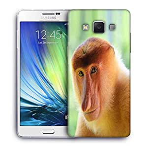Snoogg Big Nose Monkey Designer Protective Phone Back Case Cover For Samsung Galaxy ON5