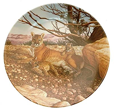 Great Cats of the Americas The Cougar plate Lee Cable HJ159