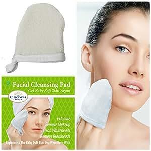 buff puff facial pads