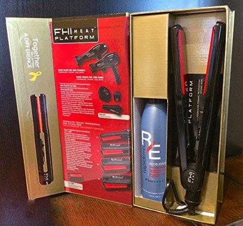 Fhi Heat Platform Tourmaline Ceramic Pro Hair Styling Iron 1 Inch Homonononoaerera