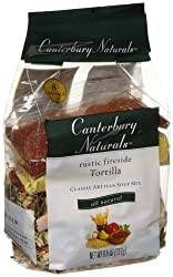 Canterbury Naturals Rustic Fireside Tortilla Classic Artisan Soup Mix, 9.5-Ounce Bags (Pack of 6)