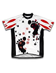 Murder Criminal Short Sleeve Cycling Jersey for Women