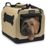 Firstrax Port-A-Crate E2 Indoor/Outdoor Pet Home, 16-Inch