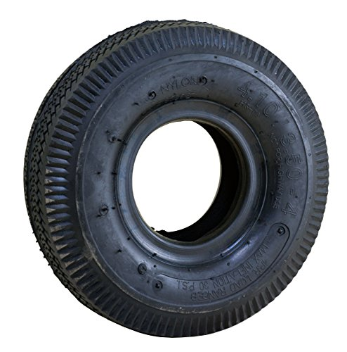 "Marathon Industries 20501 4.10/3.50-4"" - 4 Ply Rubber Replacement Wheel Tire and Tube"