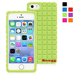 Snugg iPhone 5/5s Case - Protective, Non-Slip Silicone Case With Lifetime Guarantee (Green) For Apple iPhone 5/5s