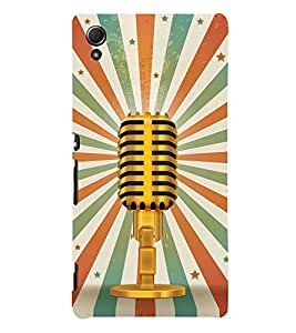 Loud Speaker Vintage Awaj 3D Hard Polycarbonate Designer Back Case Cover for Sony Xperia Z4 :: Sony Xperia Z4 E6553