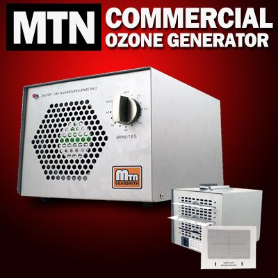 New MTN Gearsmith Commercial Ozone Generator Ionic Ionizer Air Purifier Freshener Cleaner