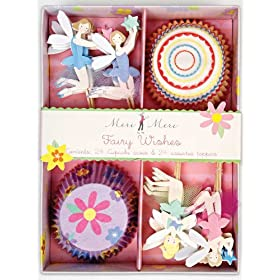 Fairy Wishes Birthday Party Cupcake Sets By Meri Meri