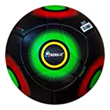 Bend-It Soccer, Knuckle-It Pro Black Premium OMB Match Soccer Ball, Size 5
