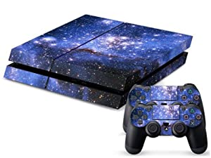 Starry Sky Vinyl Skin Decal Cover for Sony PlayStation 4 PS4 Console Sticker