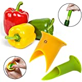 2pk Progressive Prep Solutions Pepper Corers Twist to Core & Seed Bell & Chili