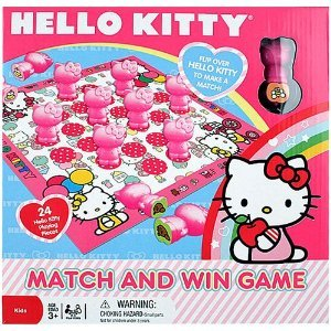 Sanrio Hello Kitty Match and Win Board Game 24 pieces Toy