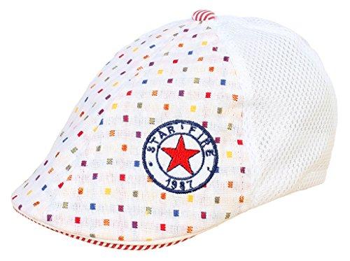 Smile-YKK-Bret-Enfant-Bb-Coton-Casquette-de-Baseball-Sport-Chapeau-Soleil-Motif-Etoile-Mode