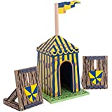 Le Toy Van Blue Siege Tent with Palisades