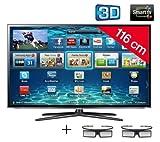 Samsung UE46ES6100 - Televisor LED 3D de 46 pulgadas con Smart TV (Full HD, 200 Hz, CI+) - color negro