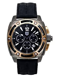 Andrew Marc Men's A11006TP G III Bomber 3 Hand Chronograph Watch