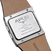 APUS Alpha Blue Stream AP-AH-BR-BL-SL-M OLED Watch for Men Second Time Zone