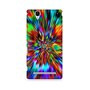 Mobicture Graphic Premium Designer Mobile Back Case Cover For Sony Xperia T2