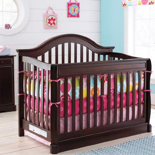 Fresh Rockland Hartford Court Convertible Crib Coffee