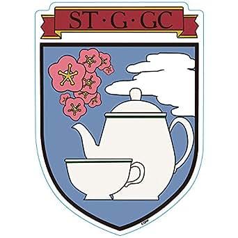 GPM-7 ガールズ&パンツァー 聖グロリアーナ女学院校章マグネット