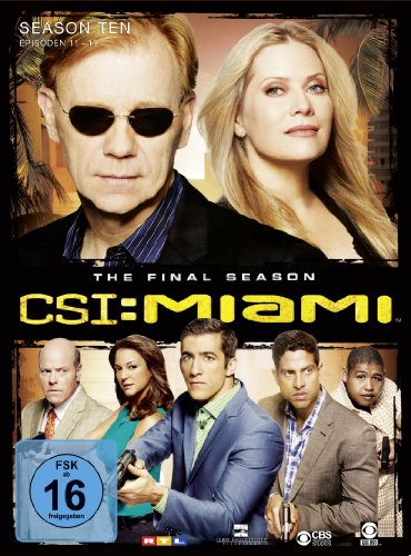 CSI: Miami - Season 10.2, The Final Season [Limited Edition] [3 DVDs]