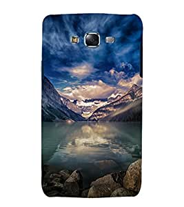 printtech Nature View Mountains Back Case Cover for Samsung Galaxy J7 (2016 ) /Versions: J710F, J710FN (EMEA); J710M (LATAM); J710H (South Africa, Pakistan, Vietnam) Also known as Samsung Galaxy J7 (2016) Duos with dual-SIM card slots Asia/China model with 1080p display and 3 GB RAM