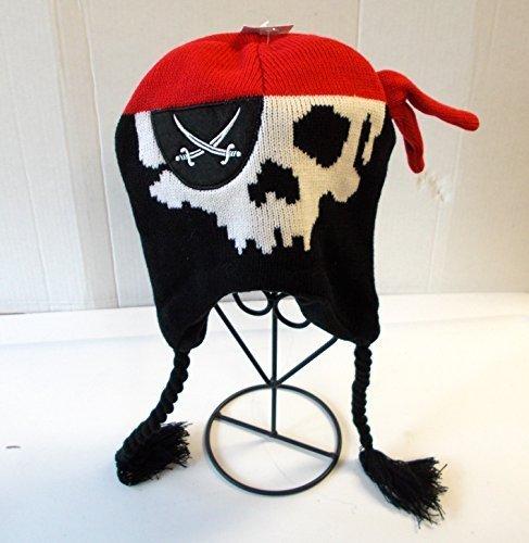 hat-pirate-stocking-hat-eye-patch-childs-osfm-nwt-by-shopko