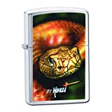 Original Zippo Lighter 24446 Mazzi - Snake, Brushed Chrome