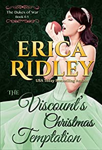 (FREE on 3/1) The Viscount's Christmas Temptation by Erica Ridley - http://eBooksHabit.com