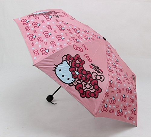 cute-hello-kitty-foldable-pink-bow-umbrella-with-non-slip-handle